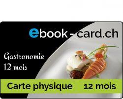 Carte gastronomie 12 mois