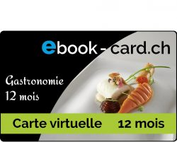 Carte virtuelle gastronomie 12 mois